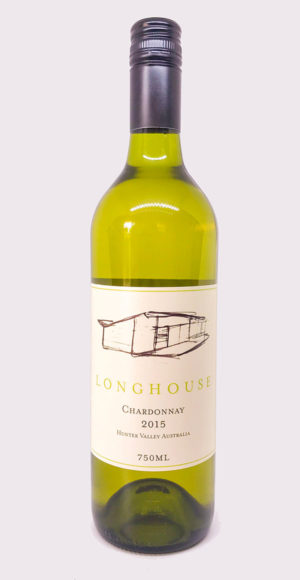 Chardonnay, Longhouse Wines, Pokolbin, Hunter Valley