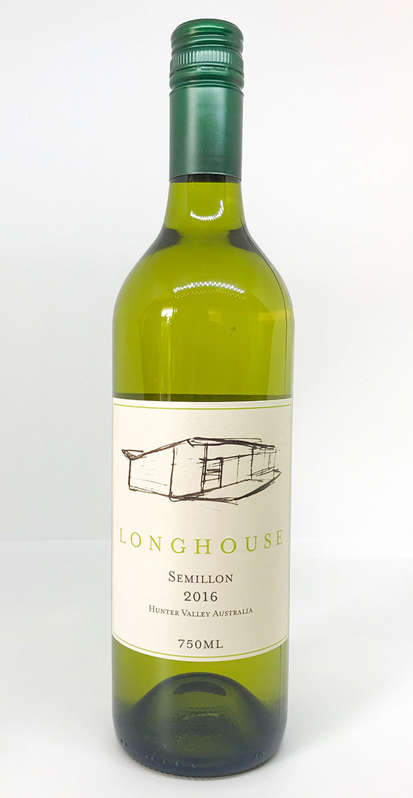 Semillon, Longhouse Wines, Pokolbin, Hunter Valley
