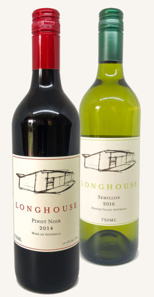 Two Bottle Pack, Longhouse Wines, Pokolbin, Hunter Valley
